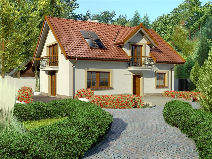 Проект дома на 205 м.кв