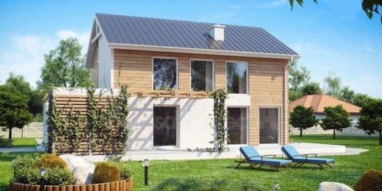 Proiect casa parter cu etaj A40