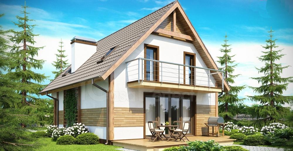 Проект дома на 154 м.кв