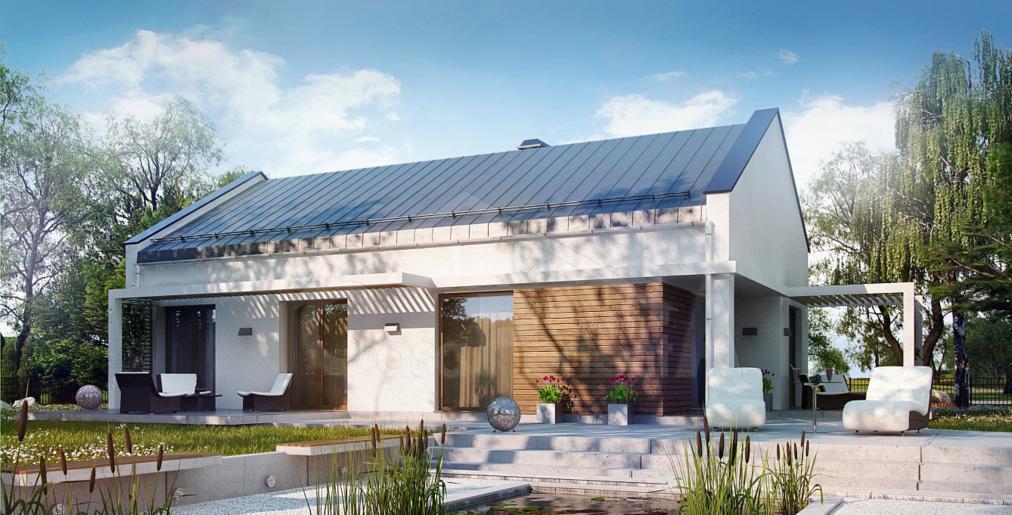 Проект дома с чердаком A41