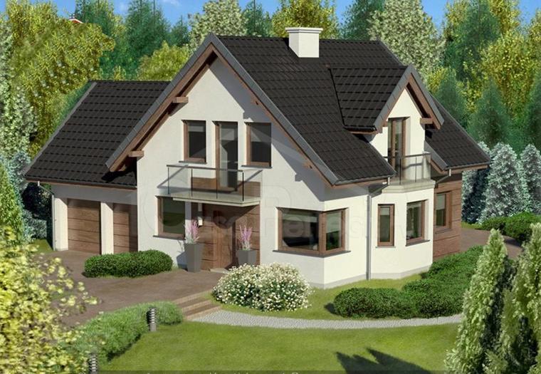 Проект дома на 250 м.кв
