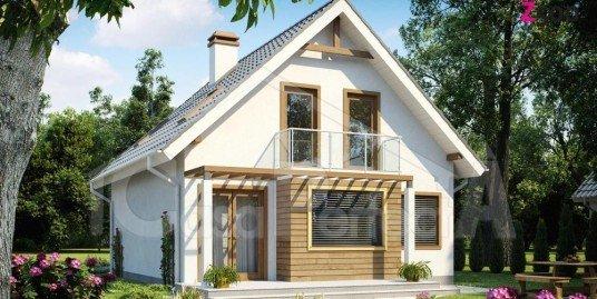 Proiect casa cu mansarda A44