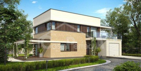 Proiect casa moderna cu etaj A51