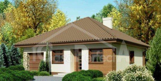 Proiect casa cu mansarda A47