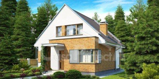 Proiect casa parter cu mansarda A84