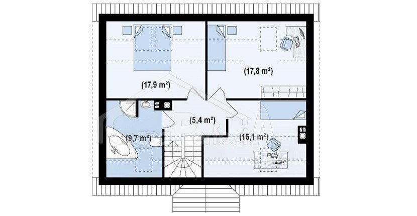 Proiect-casa-cu-Mansarda-14011-mansarda
