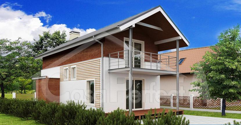 Proiect casa parter cu etaj A101