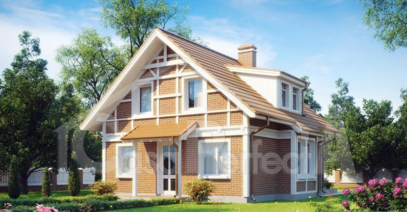 Proiect casa parter cu mansarda A91