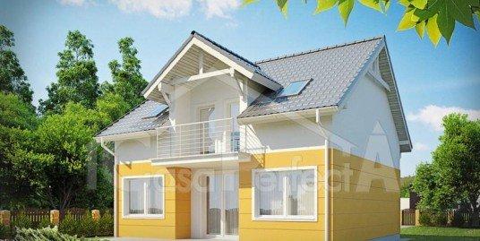 Proiect casa parter cu mansarda A96