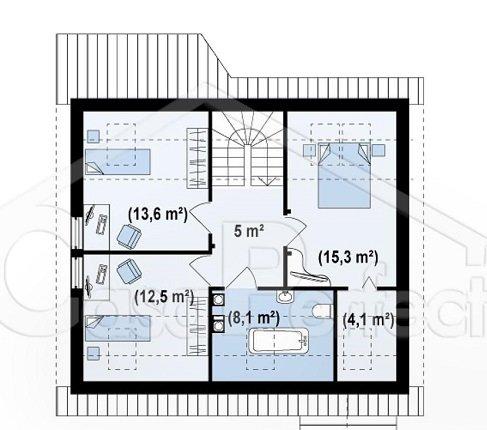 Proiect-casa-cu-Mansarda-75011-mansarda