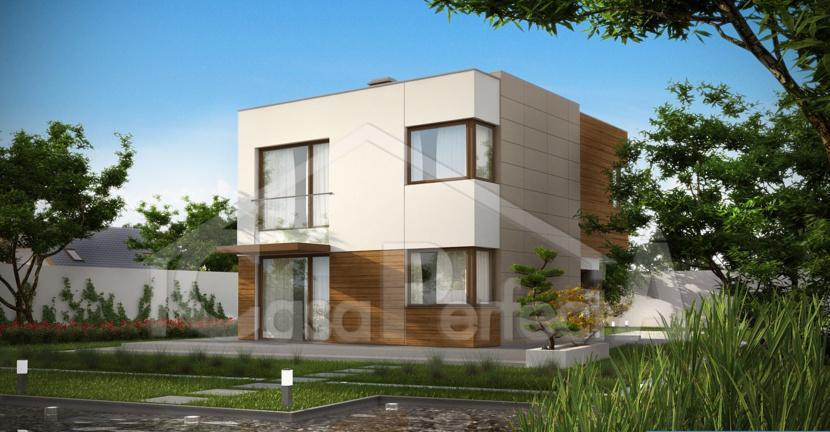 Proiect casa cu parter cu etaj A60