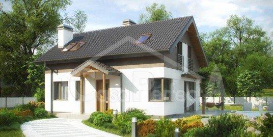 Proiect casa parter cu mansarda A71