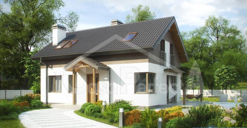 Проект дома на 155 м.кв