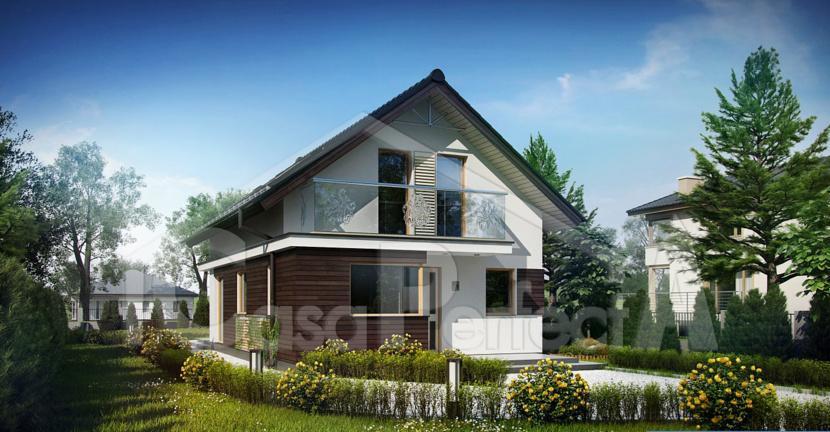 Проект дома на 195 м.кв