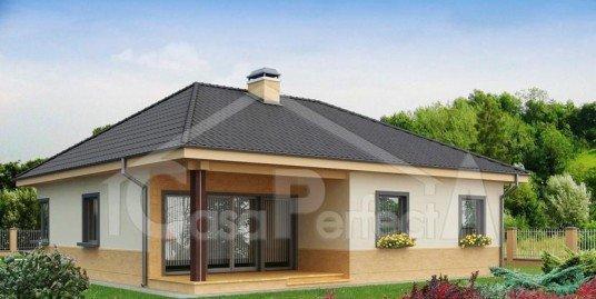 Proiect casa parter A64