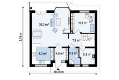 Proiect-de-casa-medie-Parter-Mansarda-40011-parter