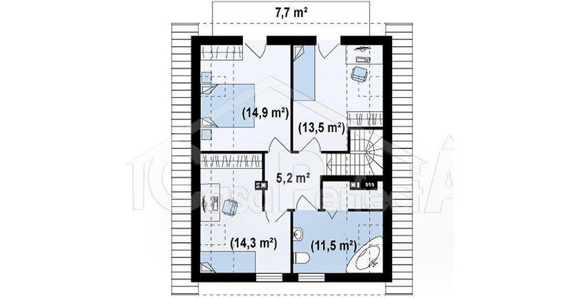 Proiect-de-casa-medie-Parter-Mansarda-45011-mansarda