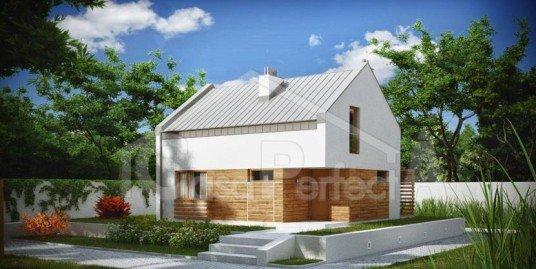 Proiect casa parter cu mansarda A67