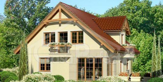 Proiect casa parter cu mansarda A107