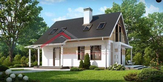 Proiect casa parter cu mansarda A56