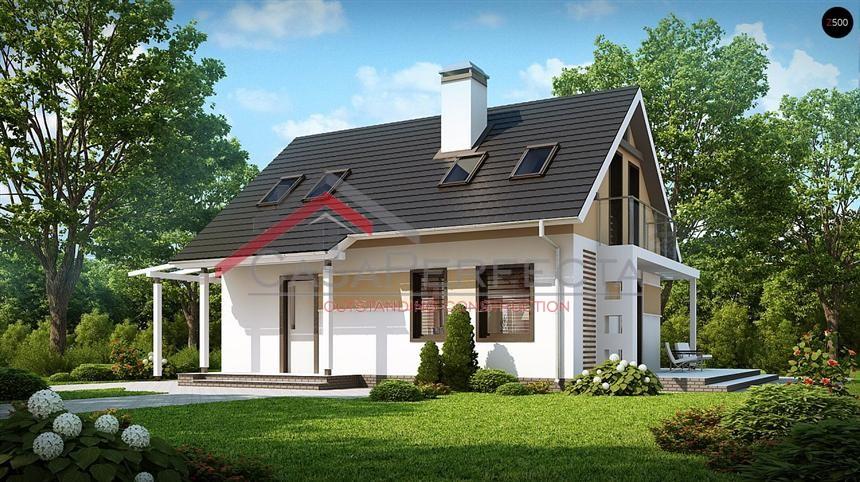 Проект дома на 136 м.кв