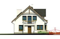 Proiect casa parter cu mansarda, 4 dormitoare