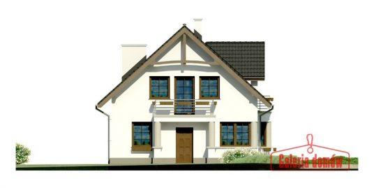 Proiect casa parter cu mansarda A85