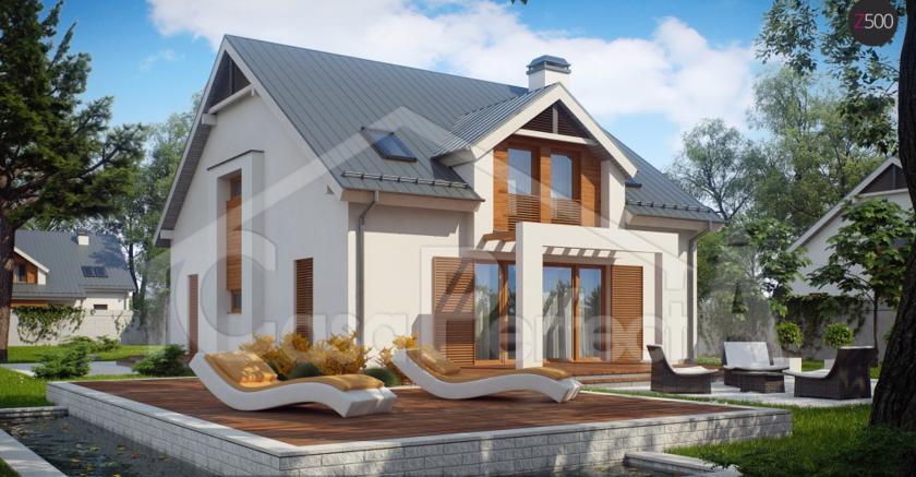 Проект дома на 255 м.кв
