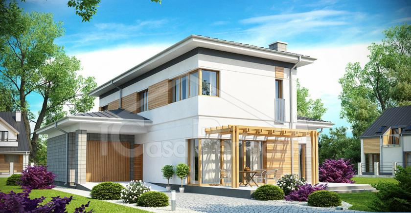 Проект дома на 215 м.кв