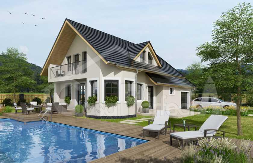 Проект дома на 245 м.кв