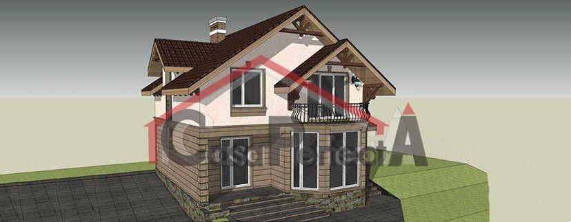 Proiectul De Casa Cu Parter, cu Mansarda