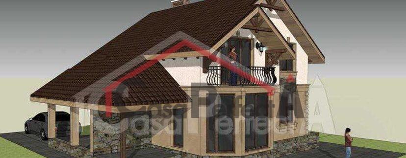 Proiectul De Casa cu Mansarda