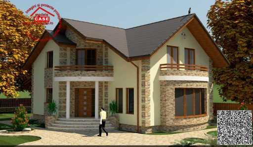 Проект дома на 200 м.кв