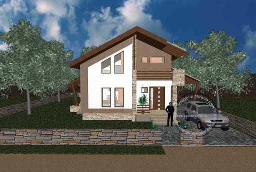 Проект дома на 147 м.кв