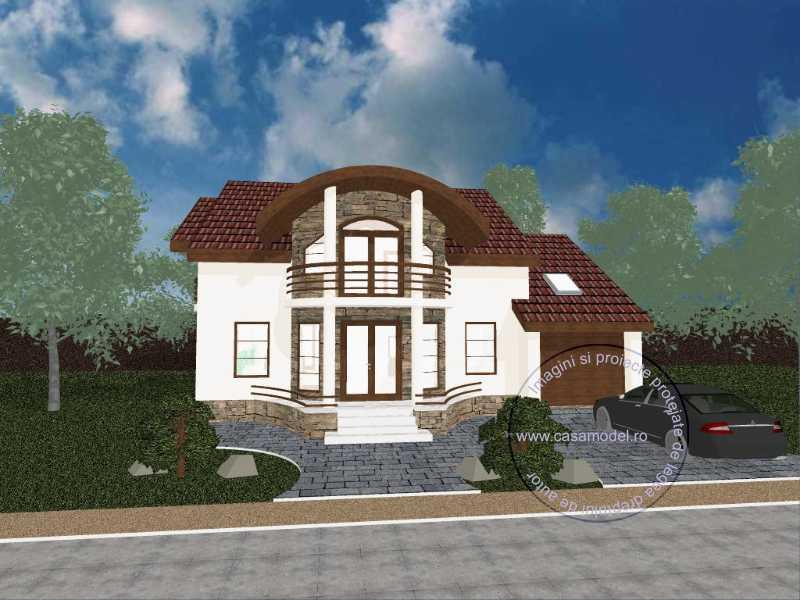 Проект дома на 261 м.кв