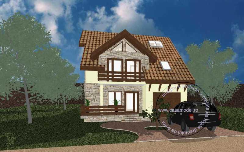 Проект дома на 235 м.кв