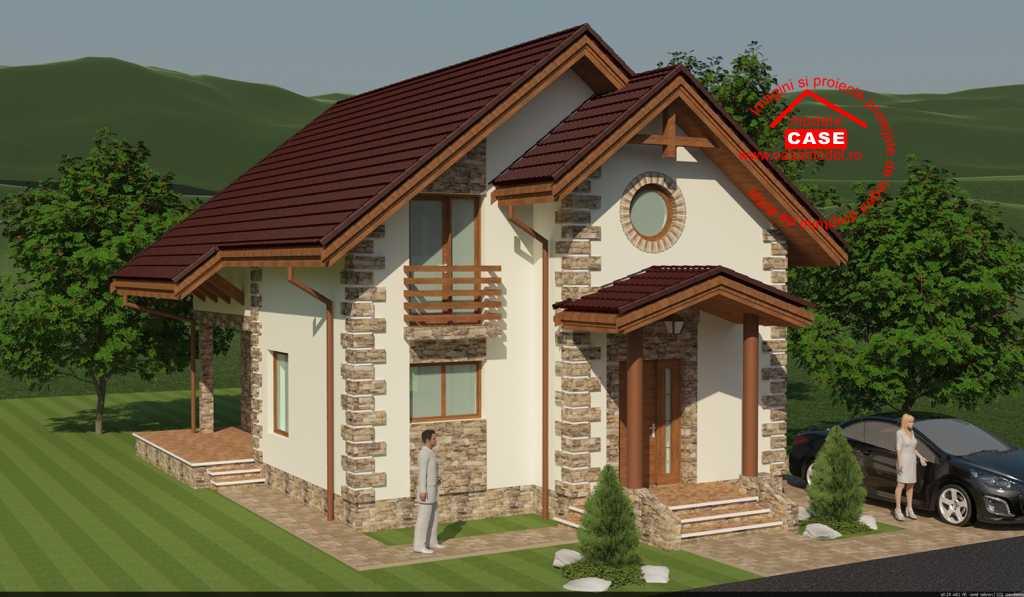 Проект дома на 145 м.кв
