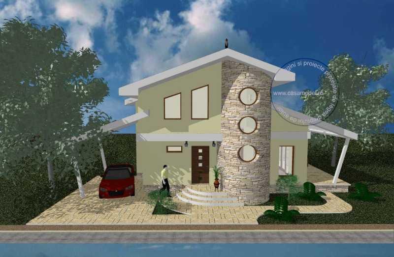 Проект дома на 116 м.кв