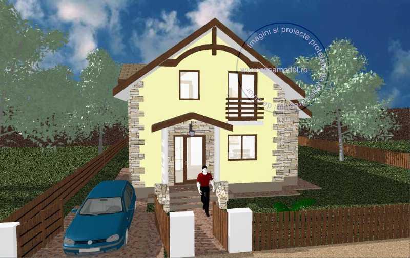 Proiect casa A208