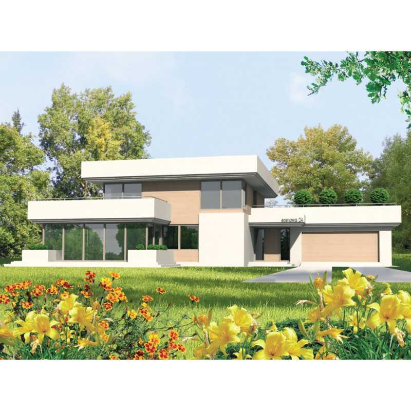 Проект дома на 1110 м.кв