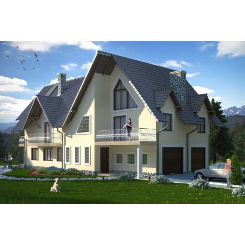 Проект дома на 410 м.кв