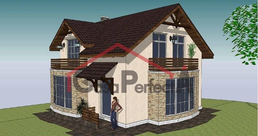 Проект дома на 128 м.кв