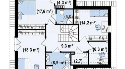 Proiect-casa-cu-Mansarda-si-Garaj-197011-mansarda