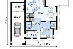 Proiect-casa-cu-Mansarda-si-Garaj-e23011-parter