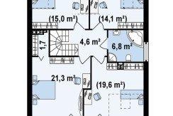 Proiect-casa-cu-Mansarda-si-Garaj-e44011-mansarda