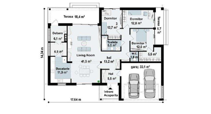proiect-casa-parter-cu-garaj-152011