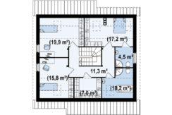 proiect-casa-cu-mansarda-si-garaj-119011-mansarda