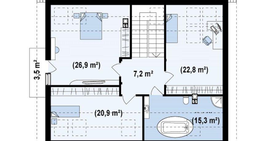 proiect-casa-cu-mansarda-95011-mansarda1