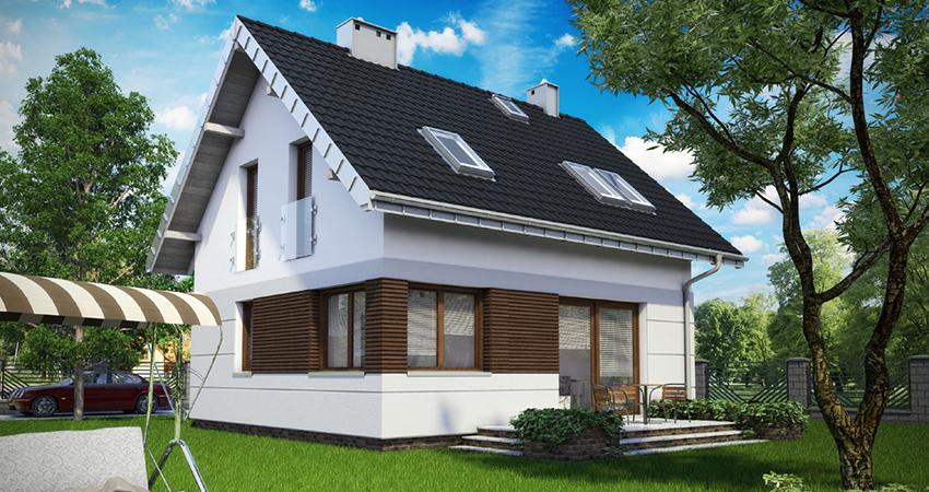 Проект дома на 128 кв.м