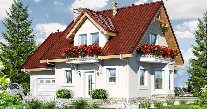 Проект дома на 165 кв.м